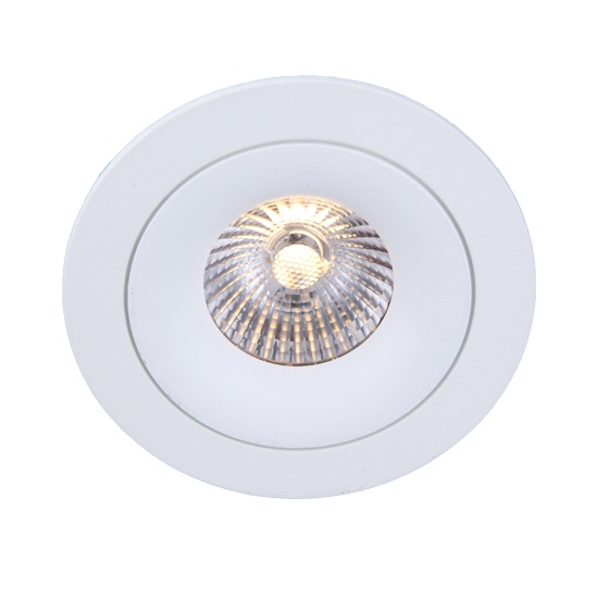Fixed Texture White 10W Downlight cutout 83mm