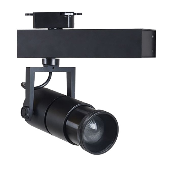 Beam angle adjustable 10-70 degree zoomable led track light