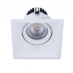 Tilt Square Shape 7W Adjustable led downlight cutout 78mm