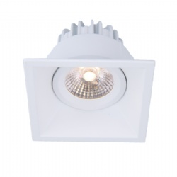 Fixed Texture White / Black 10W led downlight cutout 78*78mm