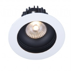 Fixed Round shape 10W led downlight cutout 88mm