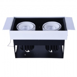 Trimless 2*13W Adjustable led downlight